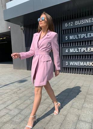 Женское платье-пиджак тренд 2021 ( люкс класса)2 фото