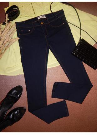 Маленькие темно синие скинни, джинсы, штаны, брюки