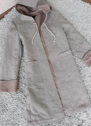 Очень стильное пальтишко накидка от  zara
