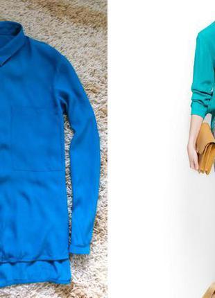 Блузка изумрудного цвета