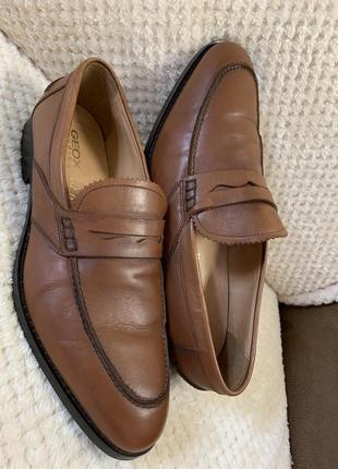 Туфли geox respira кожа новые, оригинал