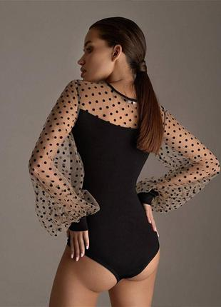 Блуза объемные рукава
