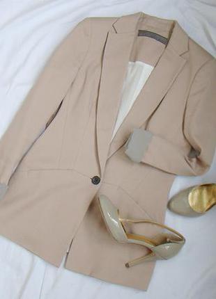 Нюдовый, пудровый, пыльно розовый пиджак zara