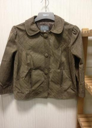 Укороченный пиджак, размер 10