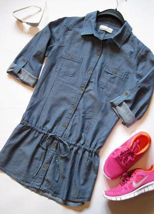 Рубашка-туника легкая коттоновая