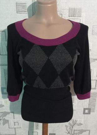 Шелковая кофта пуловер свитер globus essentials