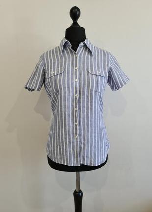 Блуза рубашка в полоску tommy hilfiger