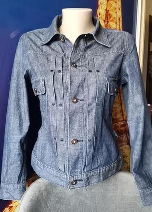 Джинсовая рубашка с акцентом на талии 2в 1 (пиджак) g-star