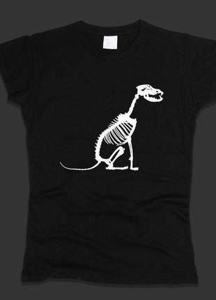 Новая футболка с принтом хлопок