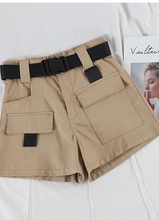 Женские шорты карго