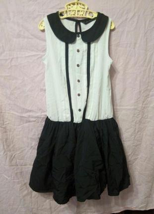 Платье школьная форма костюм