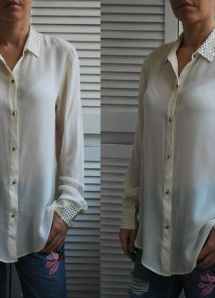 Блуза размер м-л(30) zara