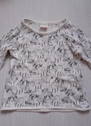Крутой свитерок zara 110-116р.