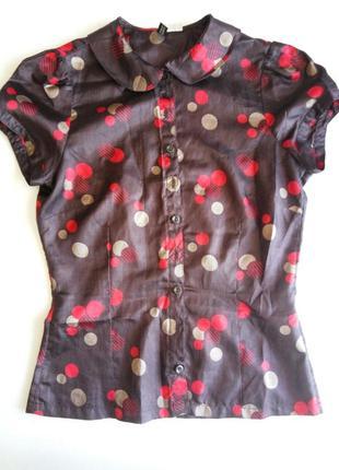 Летняя блуза блузка рубашка от h&m