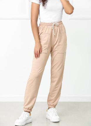 Спортивные штаны джоггеры, женские спортивные штаны трикотаж, модные джоггеры новинка 2021
