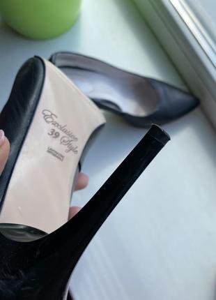 Кожаные туфли3 фото