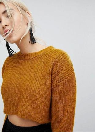 Кроп топ, укороченный свитер