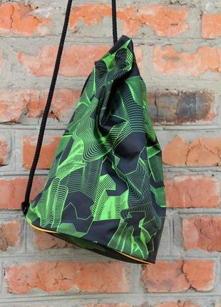 Рюкзак,мешок для сменки, бочонок для сменки, сумка-бочонок для обуви, мужской рюкзак