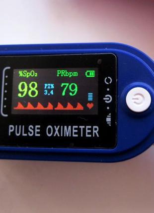 Пульсоксиметр с цветным tft дисплеем