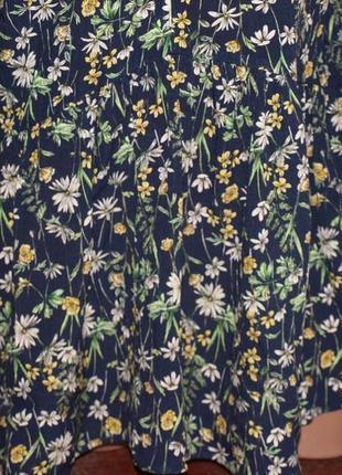 Красивая блуза м-л замеры) 100% вискоза ,с узором, превосходно смотрится. пр-во турция4 фото