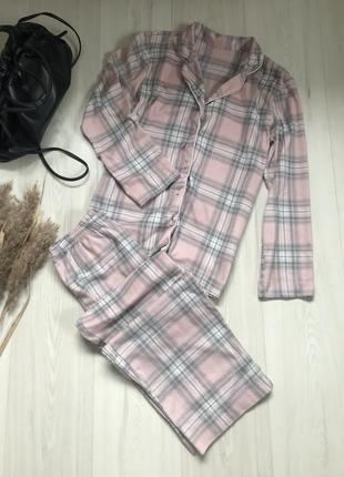 Мягкая пижама m&s размер xs-s