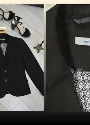 Классический черный жакет (пиджак)