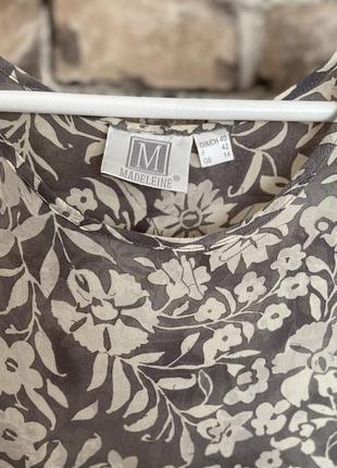 Шовкова двійка100%, блузи madeleine 🔥3 фото