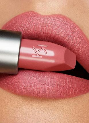 Кремовая матовая помада kiko milano velvet passion matte lipstick 316