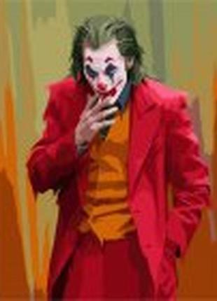 Панно картина потрясающий joker джокер акриловые краски