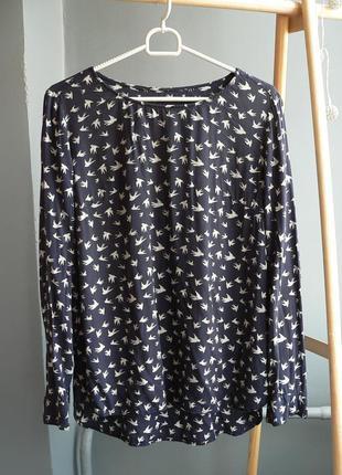 Блуза в птички only размер s