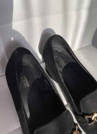 Трендовые туфли с цепочкой с цепью3 фото