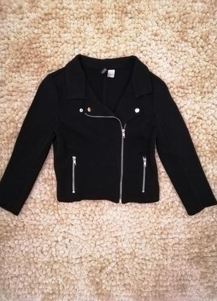Стильный укороченный пиджак жакет косуха divided h&m