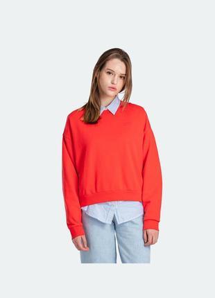 Женский свитшот levis  crewneck sweatshirt women 85630-0000 - s-m