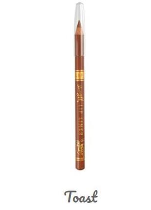 Олівець для губ золотисто коричневого кольору, карандаш для губ.