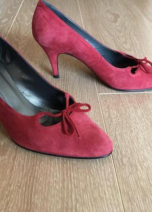 Туфли из натуральной замши vivaldi paris