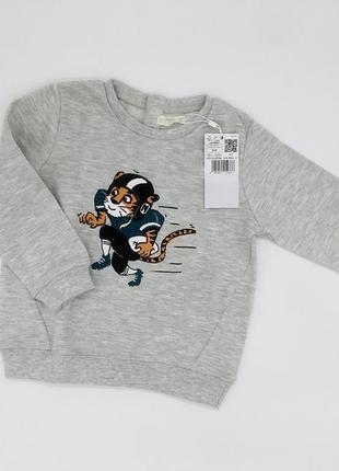 Легкий свитер, кофта, пуловер, реглан для мальчика mango, размер 2-3 г, 92-98