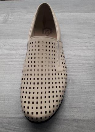 Туфли кожа🔥перфорация
