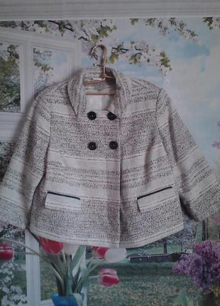 Новое пальто р 16 демисезонное,р 48-52