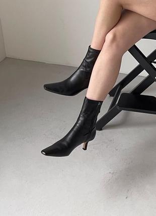 Стильные киданные ботинки zara