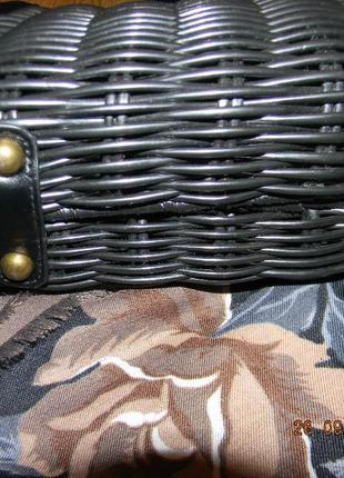 Сумочка плетеная на длинной ручке atmosphere3