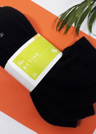 Набор носков 4 пары спортивные носки женские короткие низкие р.39-42 c&a active германия