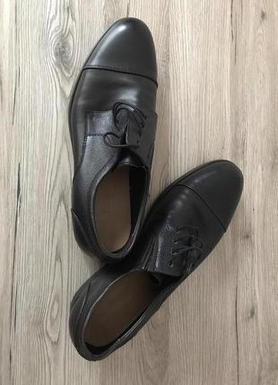 Стильные кожаные туфли с анатомической стелькой
