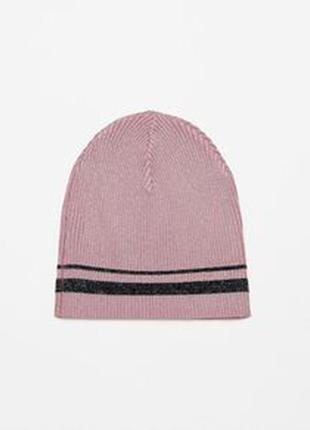 Новая женская деми шапка zara оригинал размер m-ка