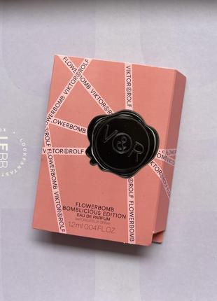 Viktor&rolf/flowerbomb/пробник парфумів/духи/солодкі парфуми/елітний парфум