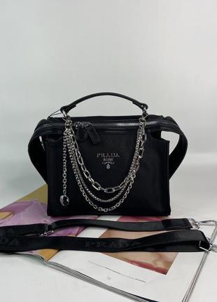 Женская сумка на и через плечо с широким ремешком жіноча сумочка