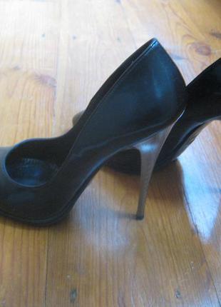 Кожаные туфли mario muzi, 37 р.