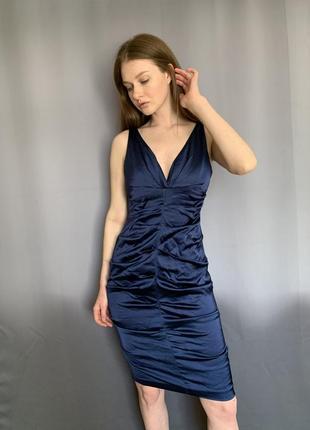 Платье миди вечернее платье