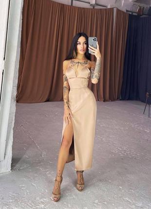 Корсетное платье1 фото