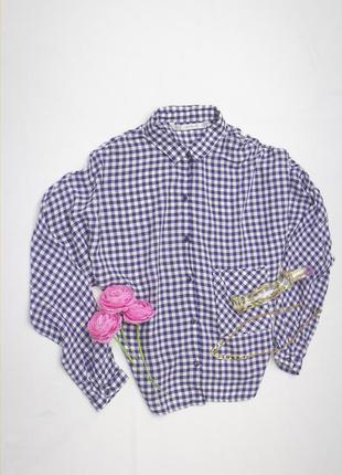 Zara trafaluc  крутейшая рубашка без плечевого шва! безумно красивая