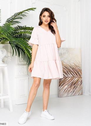 Летнее платье в горох. 9 расцветок.10 фото